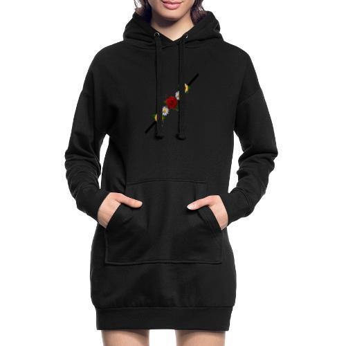hola - Sudadera vestido con capucha