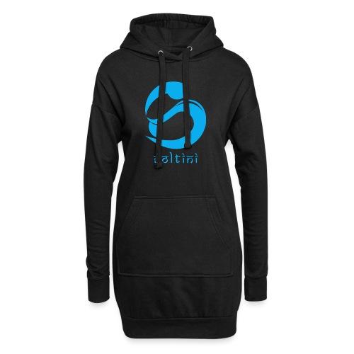 SoltiSquad Blue Logo for Soltini (Female) - Hoodie Dress