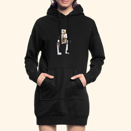 PINUP multiply - Sweat-shirt à capuche long Femme