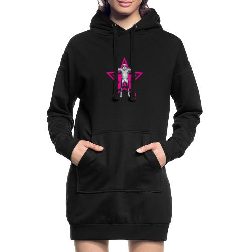 Hazy Logo - Hoodie-Kleid