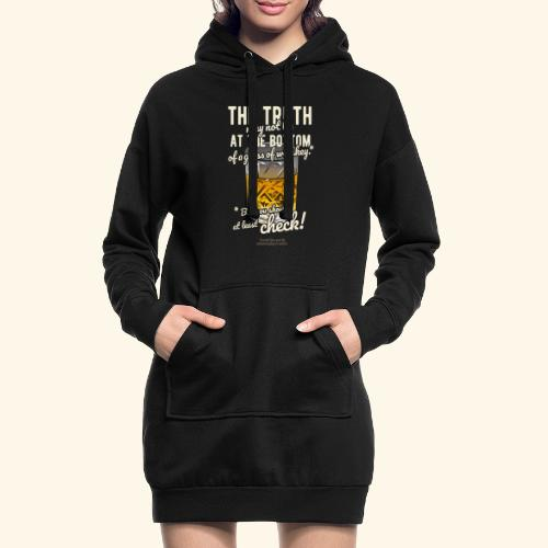 Whiskey T-Shirt The Truth - Hoodie-Kleid