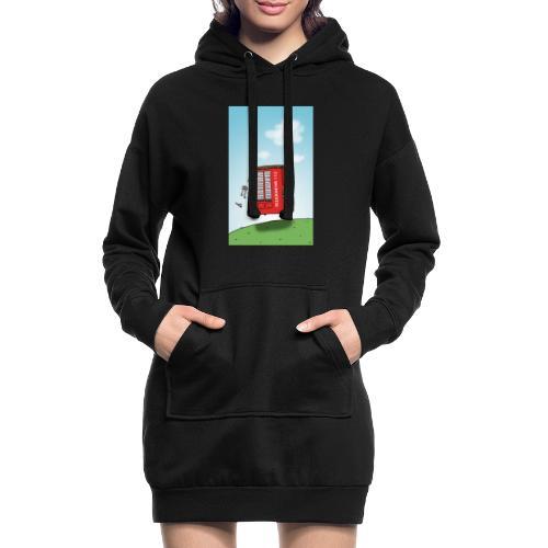 Feuerwehrwagen - Hoodie-Kleid
