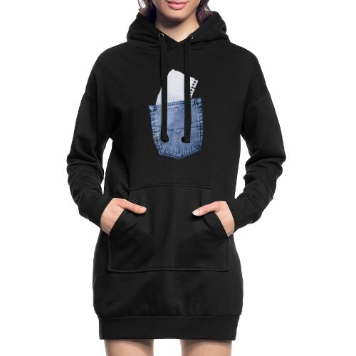 Jeans Baggy by #OneCreativeArts - Hoodie-Kleid