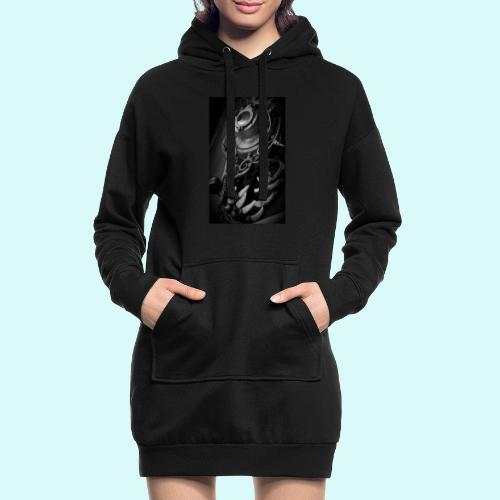 Steampunk - Sweat-shirt à capuche long Femme