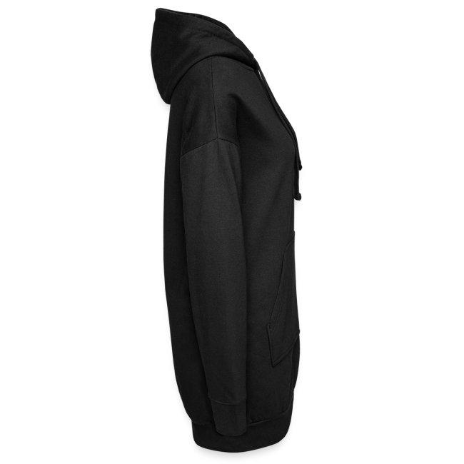 Vorschau: Katze Riss - Hoodie-Kleid