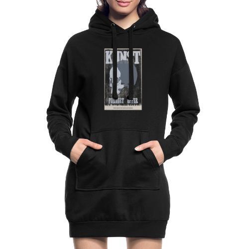 Kunst ist tot - Hoodie-Kleid
