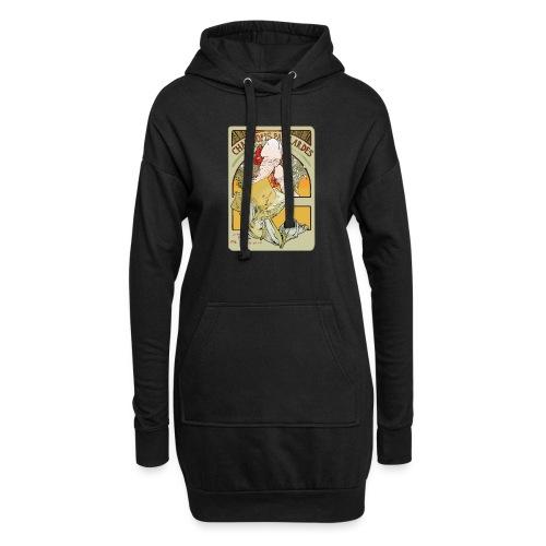 Muchibre - Sweat-shirt à capuche long Femme