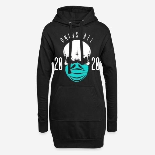 2020 deinstallieren - Hoodie-Kleid