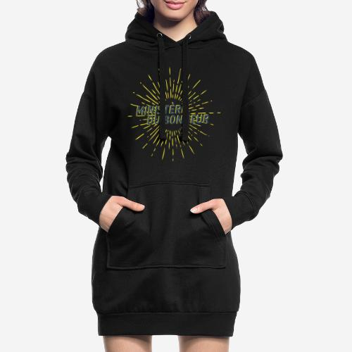 Ministère du Bonheur - Sweat-shirt à capuche long Femme