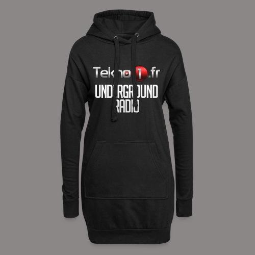 logo tekno1 2000x2000 - Sweat-shirt à capuche long Femme