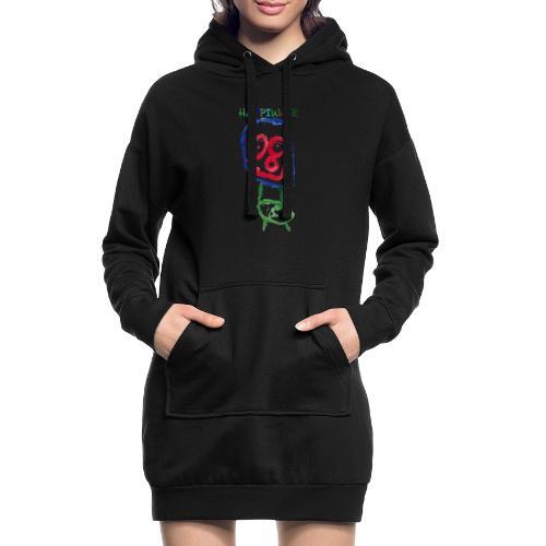 happiwær2 - Hoodie-kjole
