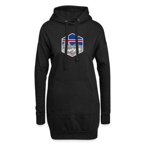 MootIsland Abzeichen - Hoodie-Kleid