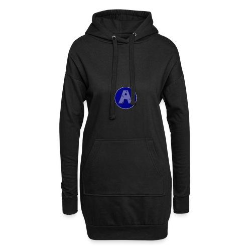 A-T-Shirt - Hoodie-Kleid