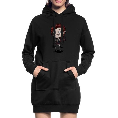 Chibi Sérègon - Sweat-shirt à capuche long Femme