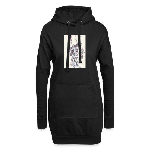 IMG_20160406_0001 - Sweat-shirt à capuche long Femme