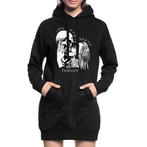 Love Black - Hoodie-Kleid