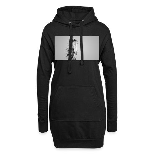Art et Design - Sweat-shirt à capuche long Femme