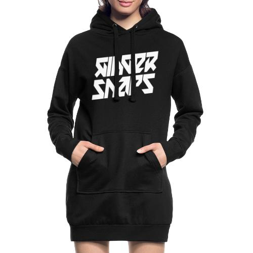 Ginger Snap5 logo (two lines white) - Hoodie Dress