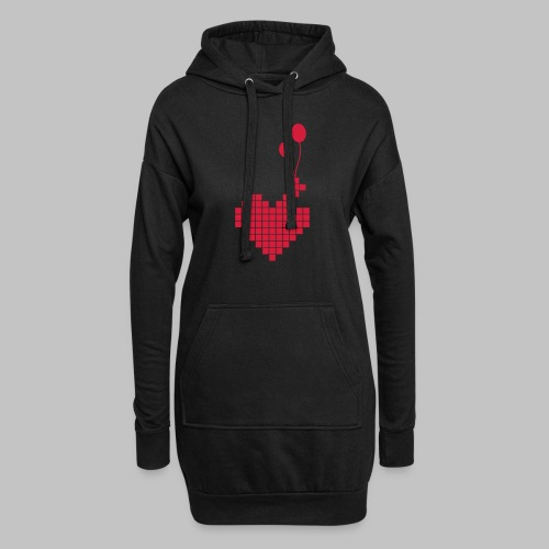 heart and balloons - Hoodie Dress