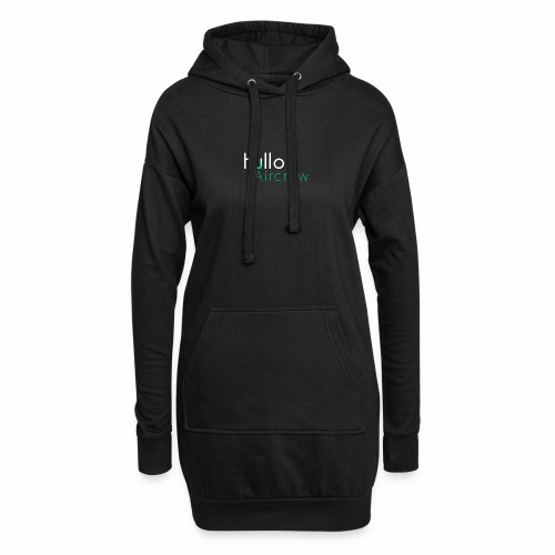 hullo Aircrew Dark - Hoodie Dress