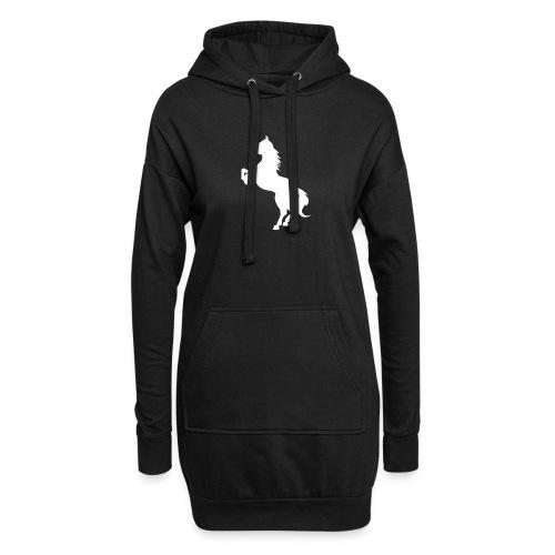 Dame T-Shirt M. Hvidt Logo - Hoodie-kjole
