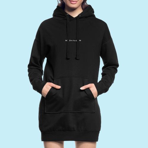 marque - Sweat-shirt à capuche long Femme