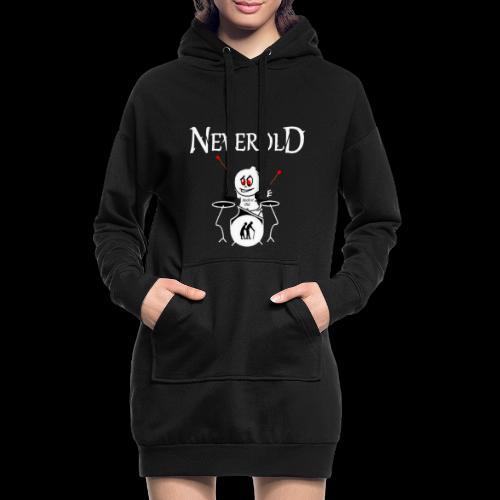 LOGO NEVEROLD - Sweat-shirt à capuche long Femme