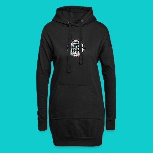 SchwarzwiegefalleneSeife - Hoodie-Kleid