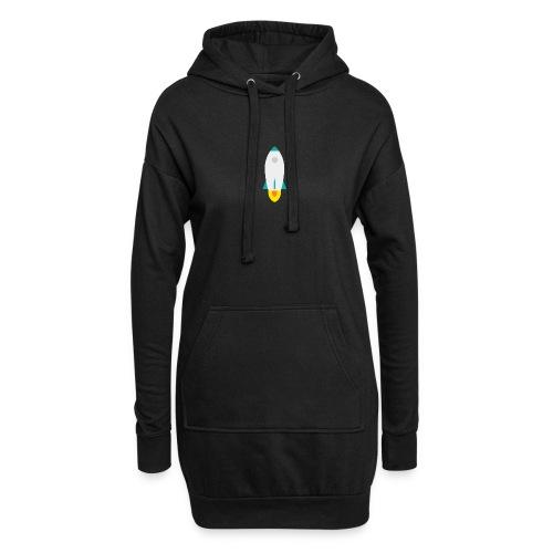 rocket - Sudadera vestido con capucha