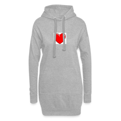 Love shirts - Hoodiejurk