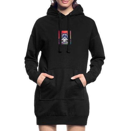 bcde_logo - Hoodie-Kleid