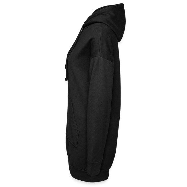 Vorschau: auf die kacke haun - Hoodie-Kleid