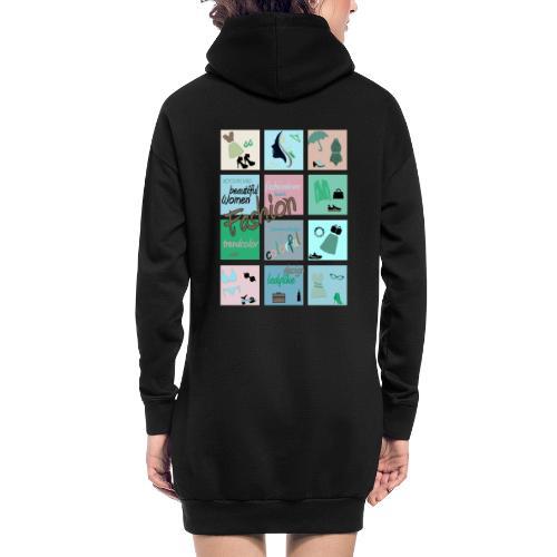 Fashionlover - Hoodie-Kleid