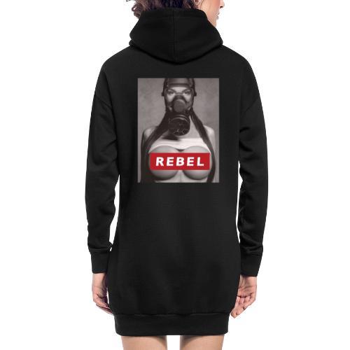 postapocalyptic rebel - Hoodie-Kleid