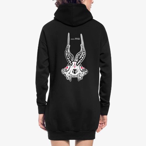 Fux Skull-ver2 - Hoodie-Kleid