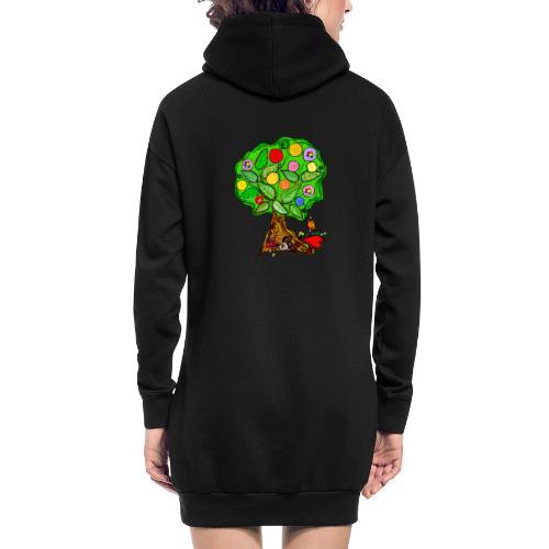 LebensBaum - Hoodie-Kleid