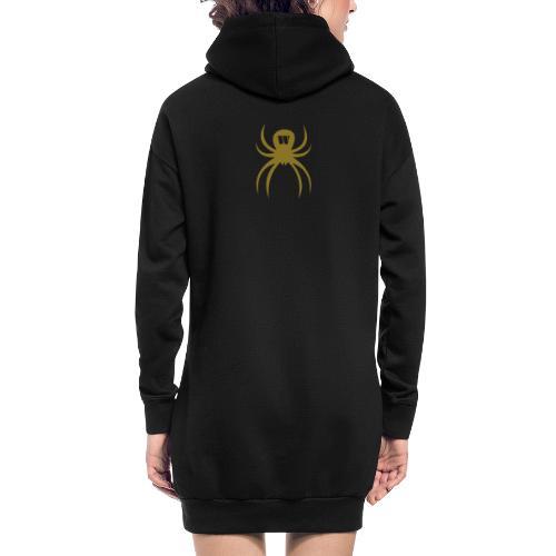 Spider gold - Hoodie-Kleid