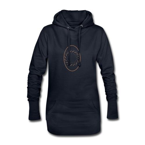 Ov - Sweat-shirt à capuche long Femme