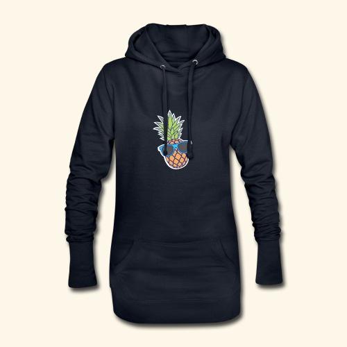ananas met zonnebril - Hoodiejurk
