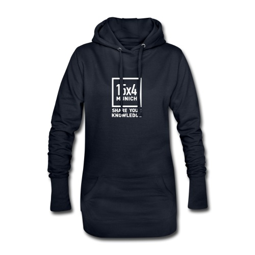 Share your knowledge - Hoodie-Kleid