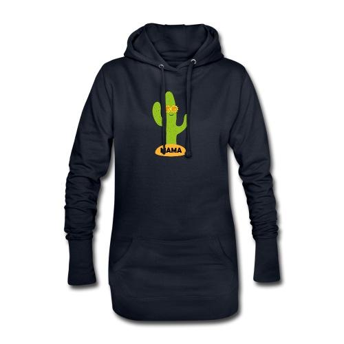 Mama-Cactus - Hoodie-Kleid