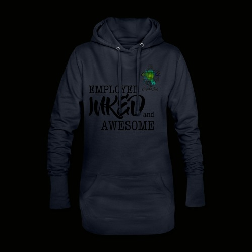 Employed inked and awesome - Hoodie-Kleid