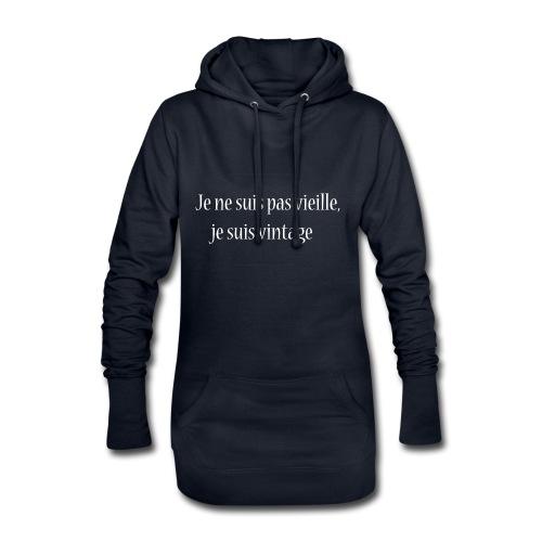 Vintage Attitude - Sweat-shirt à capuche long Femme