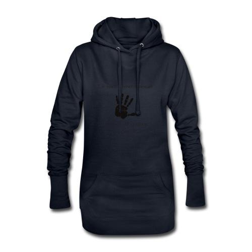 Le harcèlement sexuel - Sweat-shirt à capuche long Femme