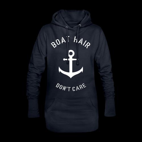 Boat Hair Dont Care - Anker - Hoodie-Kleid