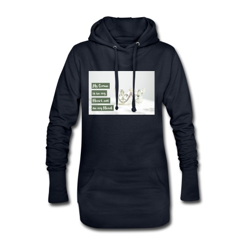 My crown is in my Heart - Hoodie-Kleid
