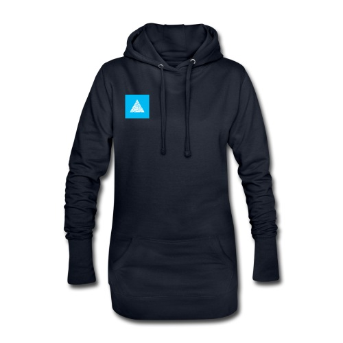 WHM logo - Sweat-shirt à capuche long Femme