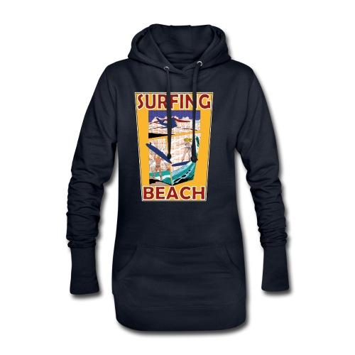 Surfing beach comic Urlaub t-shirt - Hoodie-Kleid