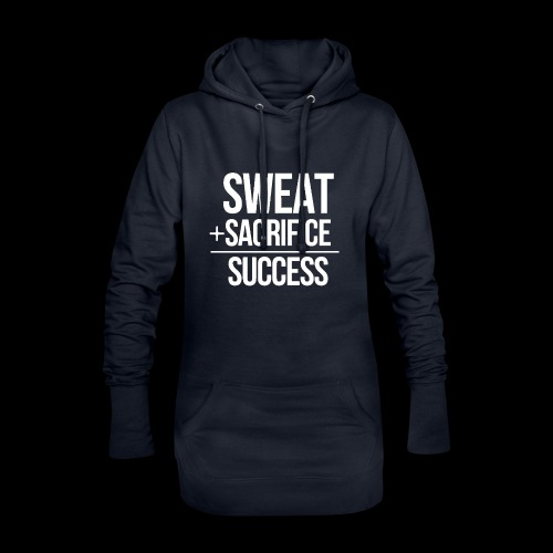 Erfolg Motivation Fitness T-shirt Englisch - Hoodie-Kleid
