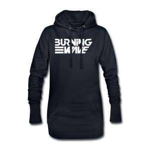 Burning Wave Block - Sweat-shirt à capuche long Femme